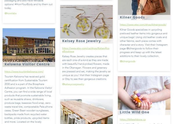 Green Okanagan Shop Local Directory