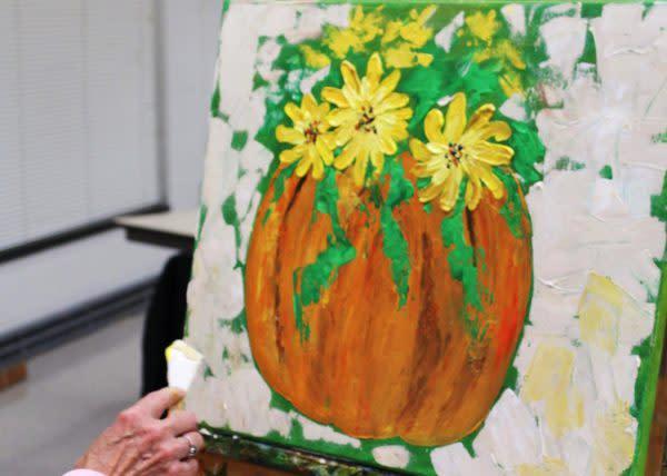 Racine Art Museum Pumpkin Painting