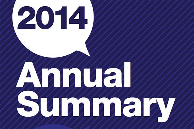 2014 Annual Summary