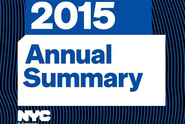 2015 Annual Summary
