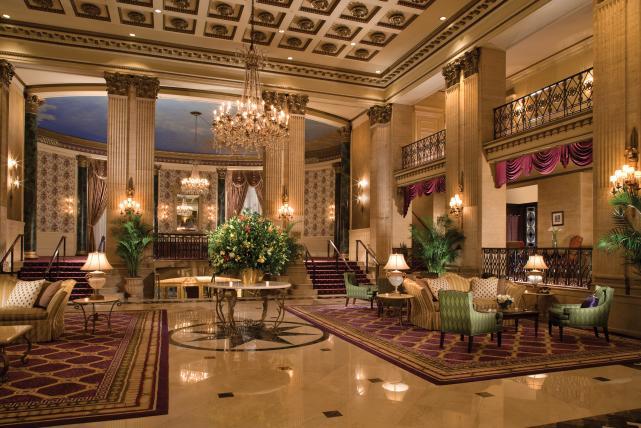 Roosevelt hotel lobby, interior
