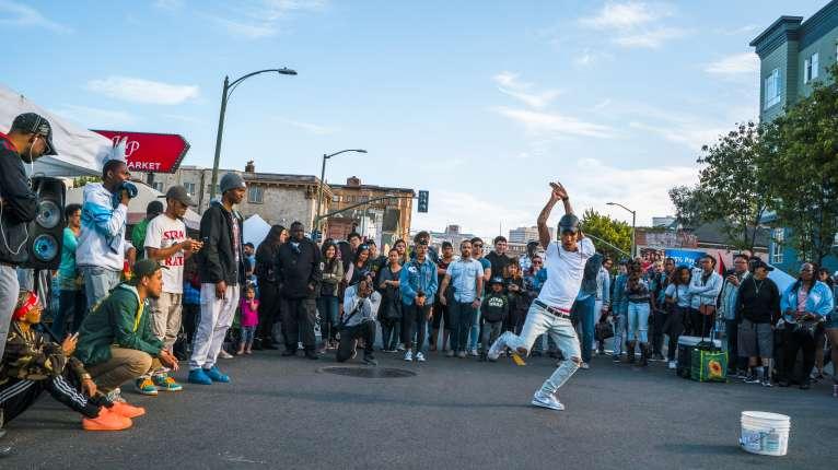 Oakland First Friday dancer