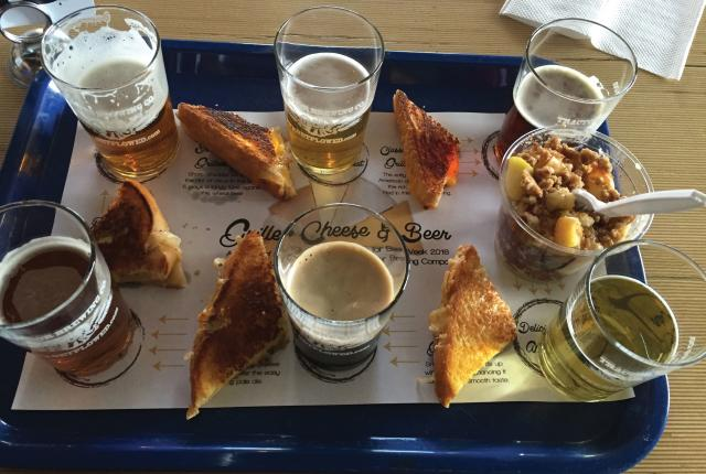 Trying new beers and nibbles at ABQ Beer Week
