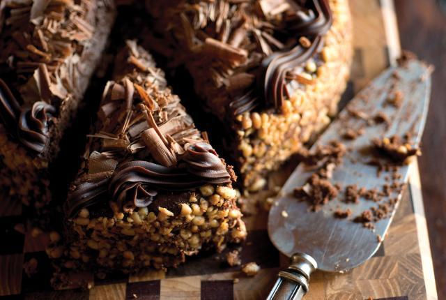 Chocolate Pinon Torte