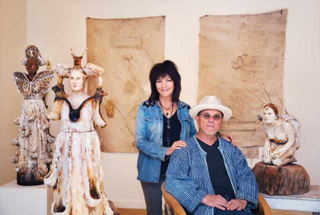 Debra Fritts and Frank Shelton