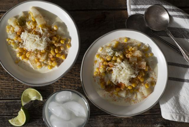 Tasting: Corn, Green Chile  Corn Chowder, New Mexico Magazine