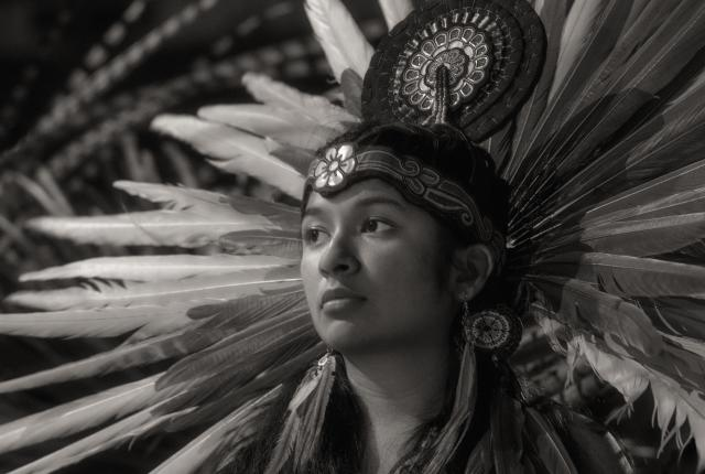 Azteca Dancer at the Gathering of Nations