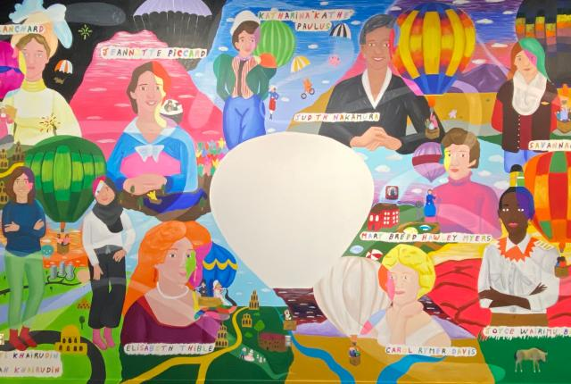 In Their Words: Stories by Women on the Ground and in the Air, the Anderson-Abruzzo Albuquerque International Balloon Museum