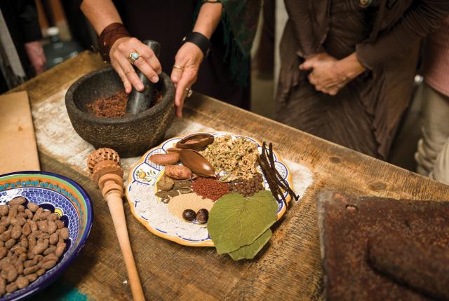Caco students utilize ancient technique.