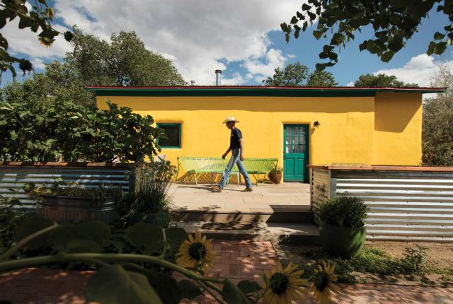 David Campbell and Heidi Steele house in Cerrillos