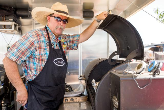 Former barbecue world champion Kelly Wertz returns to Smokin' on the Pecos