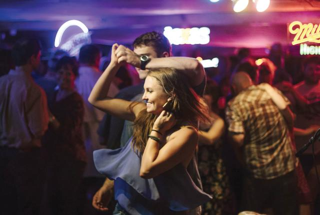The Angel Fire Food and Wine Roundup includes music and dancing.