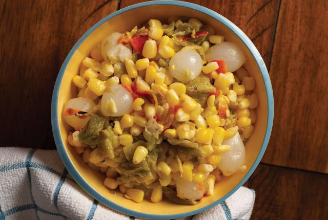 Corn with Green Chile