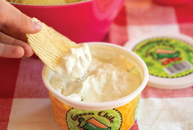Creamland Dairy's Green Chile Dip