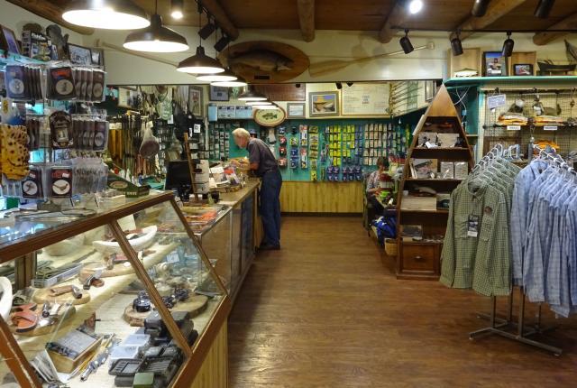 Inside Abe's Fly Shop
