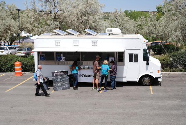 The Santa Fe YouthWorks Food Truck