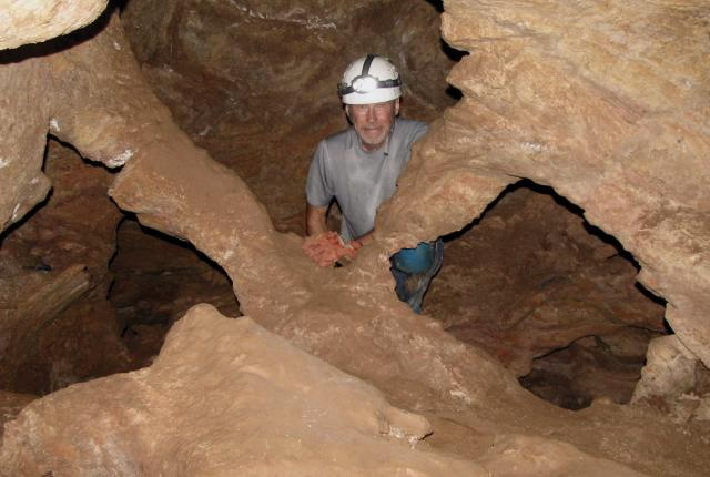 Doug Thompson in Carlsbad Caverns