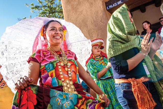 Artists share their culture during the International Folk Art Market