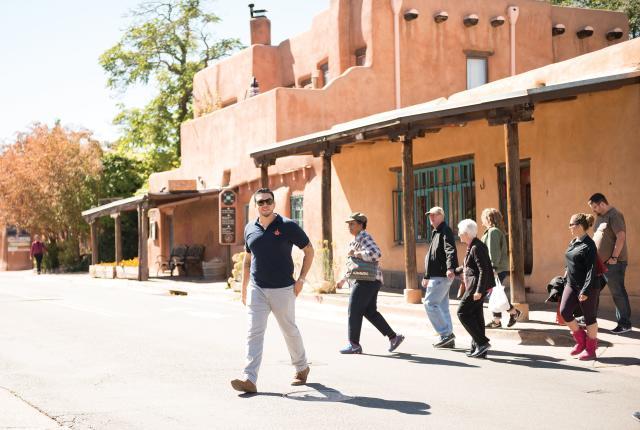 Walking Food Tour guide Nick Peña.