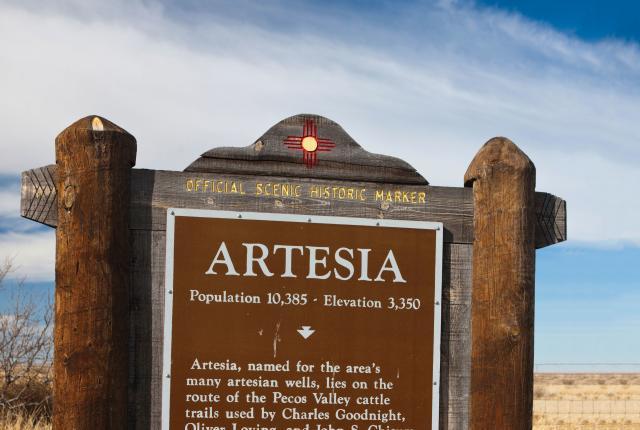 Artesia Historic Marker