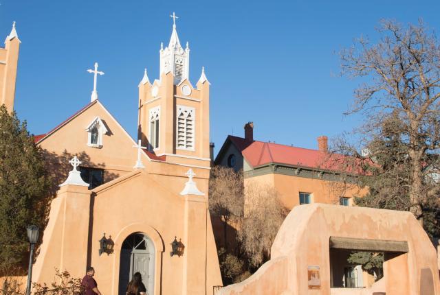 Old Town's San Felipe de Neri Church