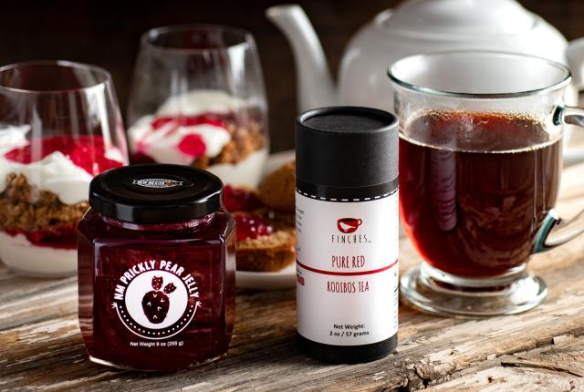 Pantry: New Mexico Prickly Pear Jelly & Finches