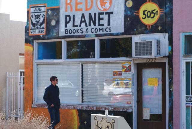 Red Planet Comics in Albuquerque