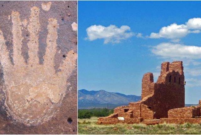 Petroglyphs at Salinas Pueblo Missions National Monument