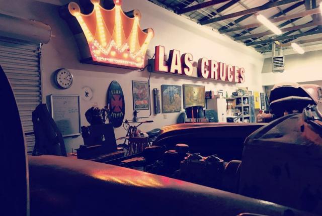 Interior of Art Obscura in Las Cruces