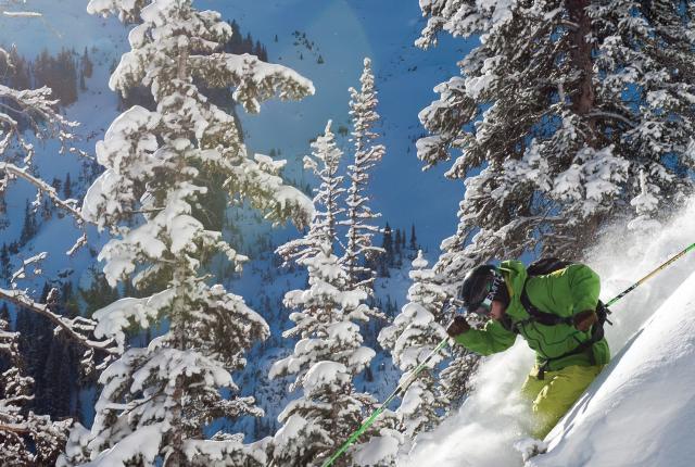 Legendary steeps at Taos