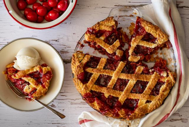 Cafe Pasqual's Cherry Pie
