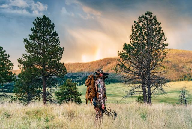 Hunting Elk in the Valles Caldera National Preserve In New Mexico