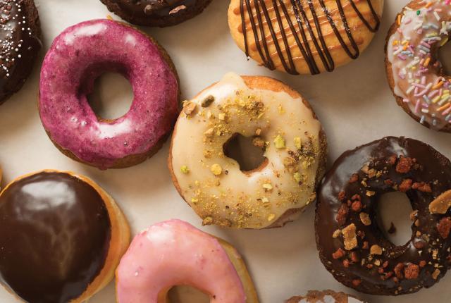 Whoo's Donuts delicious spread