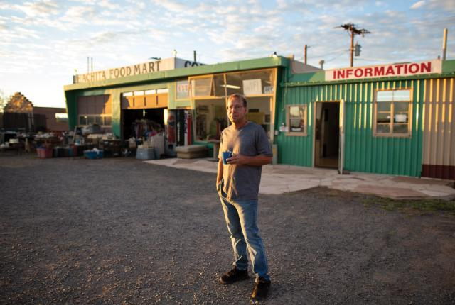 Since 1992, the Hachita Food Mart has been an on-again off-again passion project for Jeff Cullum