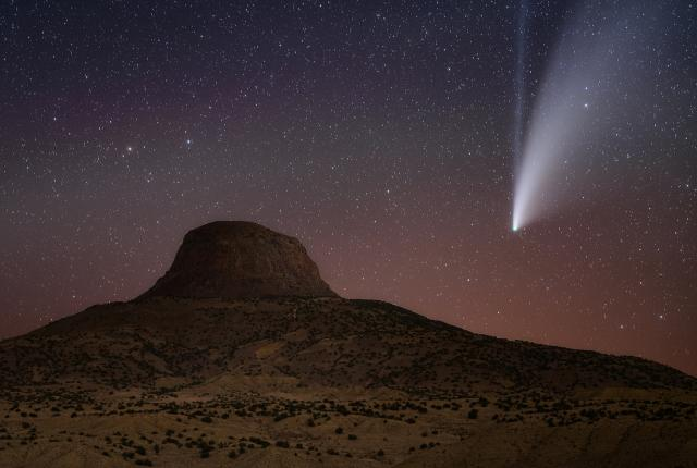 """""""Neowise"""" by photographer Paul Schmit, 1st place winner in Nightscapes category of 20th annual Photo Contest"""