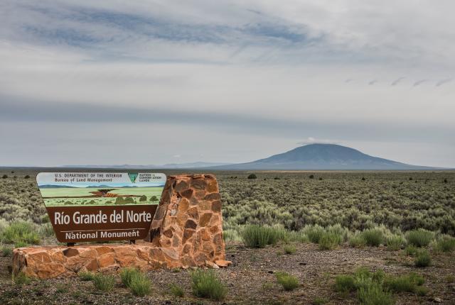 Questa New Mexico, Rio Grande del Norte National Monument