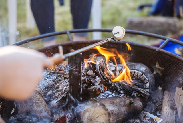 Camping with S'mores