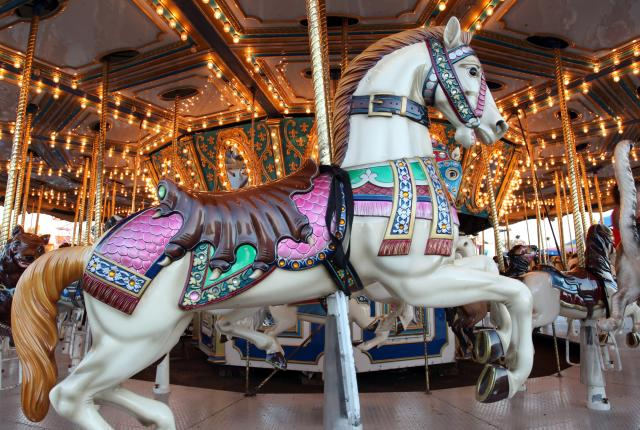 Carousel at the New Mexico State Fair