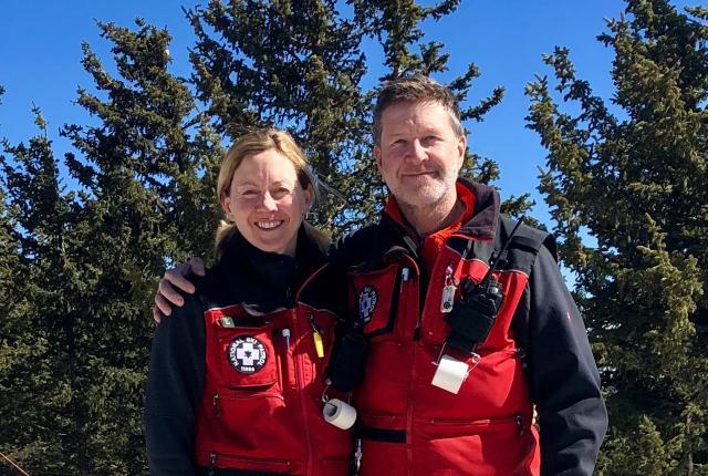 Tracy and Paul Amidon, Ski Apache, New Mexico Magazine