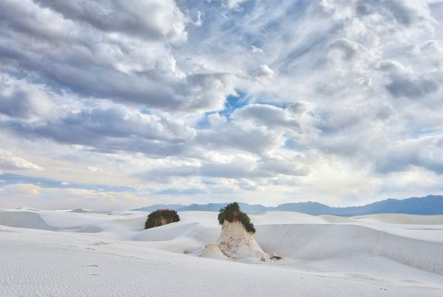 Photography of landscape at White Sands National Park