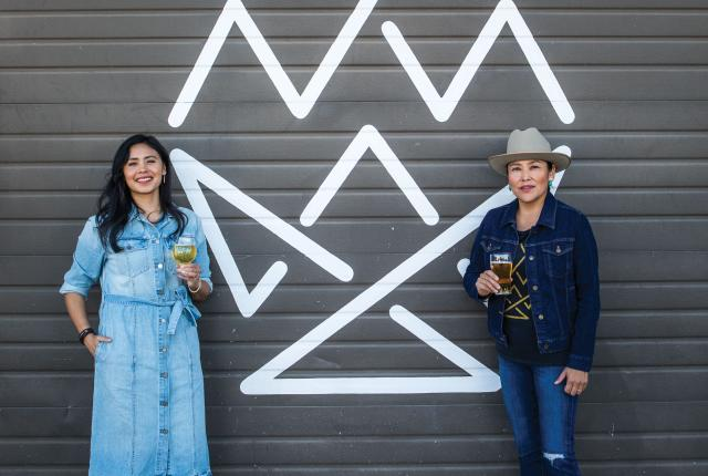 Bow and Arrow's founders Shyla Sheppard and Missy Begay