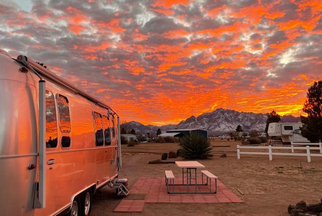 Mountain views at Rusty's RV Ranch