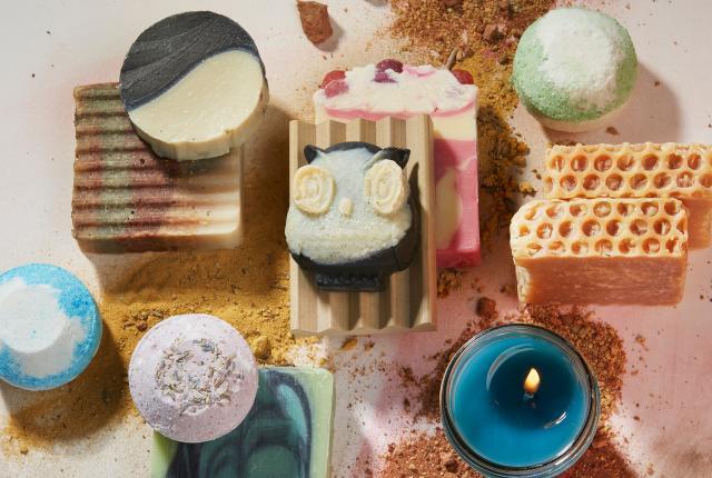 Handmade soaps from Desert Bells