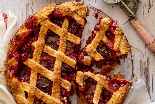 Copy of Cafe Pasqual's Sour Cherry Pie