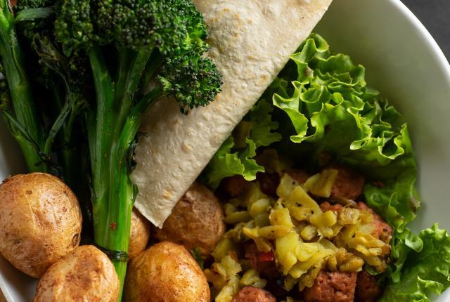 Tasting: Salud! de Mesilla's Chris's Vegan Bowl