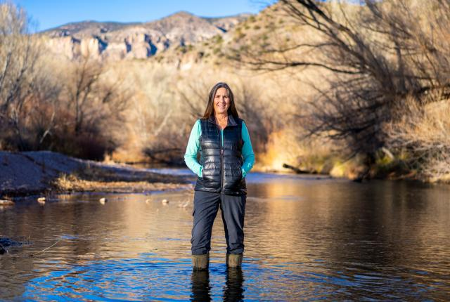 Allyson Siwik, Executive Director, Gila Resources Information Project, and Director, Gila Conservation Coalition, Silver City, New Mexico Magazine