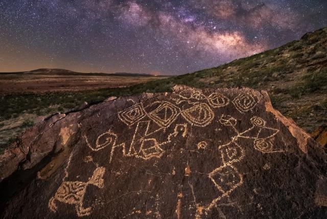 Petroglyphs in the Organ Mountains-Desert Peaks National Monument