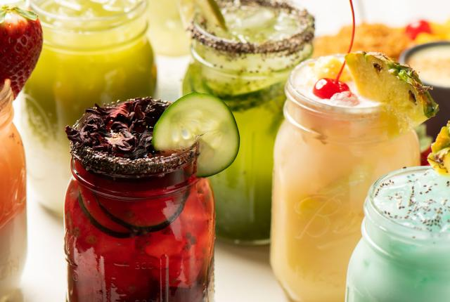 Aguas Frescas at Matteo's Mexican Food in Las Cruces