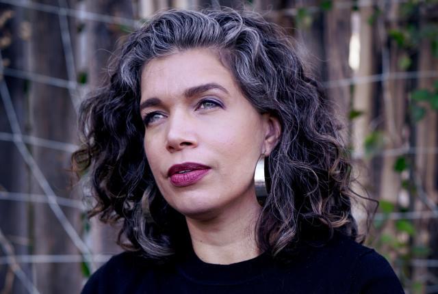 Jamie Figueroa and her debut novel, Brother, Sister, Mother, Explorer (Catapult, 2021)