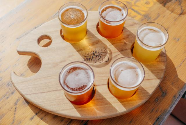 Beer Flights are popular options when your just can't decide what to drink.
